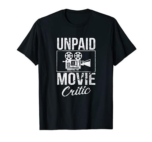 Unpaid Movie Critic Tee