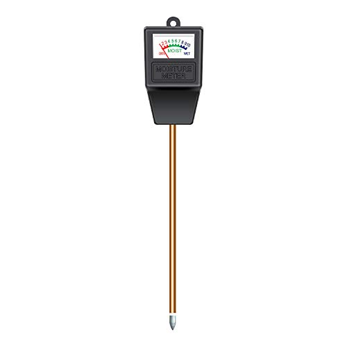 Atree Soil Moisture Meter, Plant Moisture Meter, Plant Water Meter, Hygrometer Moisture Sensor For Garden, Farm, Lawn, Indoor & Outdoor (No Battery Needed)