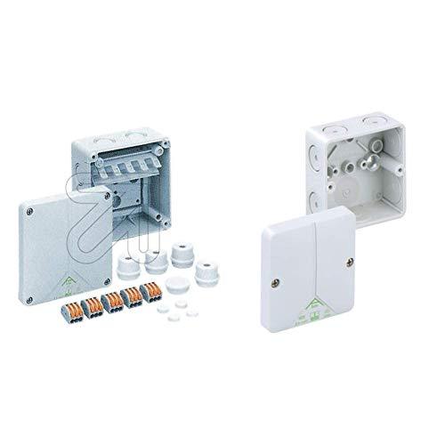 Spelsberg Verbindungsdose, 110 x 110 x 67 mm, IP65, GR Abox SL-2,5 qmm, 1196033 & 80290701 Abox 025-L Verbindungsdose