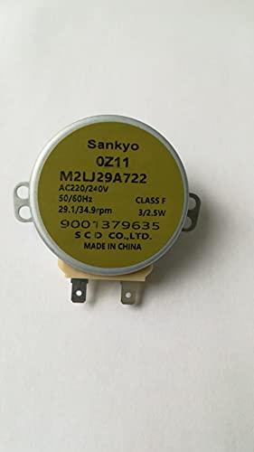 Motor microondas antena para hornos Bosch Neff Siemens 00426228