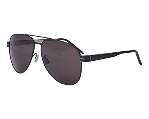 Yves Saint Laurent Sonnenbrillen (SL-M-53 001) schwarz matt - palladium-silber - grau