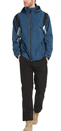 アオキ(aoki outdoor)レインウェア レインスーツ 上下セット ゴルフウェア ウィンドブレーカー マウンテンパーカー 防水 メンズ カッパ 透湿 防水 防風 軽量