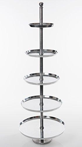 ETAGERE TORTENSTÄNDER XXL A000 ALUMINIUM 170 cm
