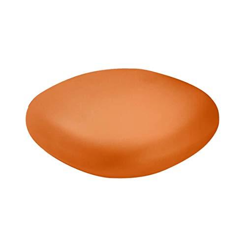 Slide Chubby Pouf bas/Table basse Orange Courge