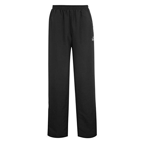 Lonsdale Trainingshose für Herren, offener Saumabschluss, elastischer Bund, Webstoff XXL schwarz