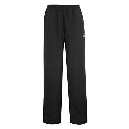 Lonsdale para hombre con dobladillo abierto de tejido y con temporizador New de chándal parte inferior pantalones de cintura elástica