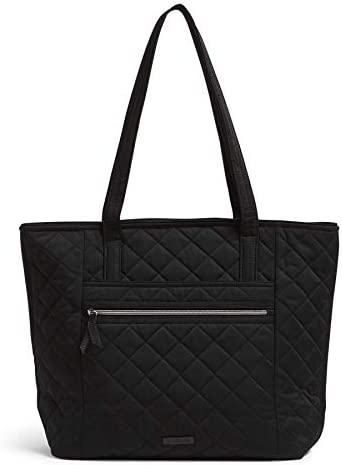 Vera Bradley Performance Twill Vera Tote Bag Classic Black product image