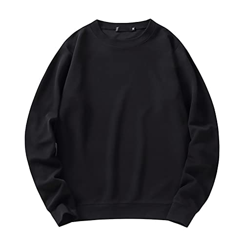 SSBZYES Camisa Deportiva para Hombre Camiseta De Manga Larga Suéter De Cuello Redondo para Hombre Suéter...