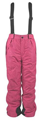 Generisch Mädchen Kinder Skihose Wintersport Sporthose Schneehose Hose, Farbe:Pink, Größe:134/140