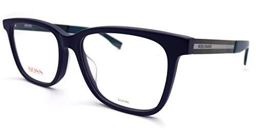 BOSS ORANGE BO-0260-F-QWK-54-17-0 Hugo Orange Sonnenbrille BO-0260-F-QWK-54-17-0 Rechteckig Sonnenbrille 54, Blau