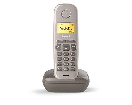 Gigaset A170 Solo Téléphone fixe sans fil DECT/GAP Taupe