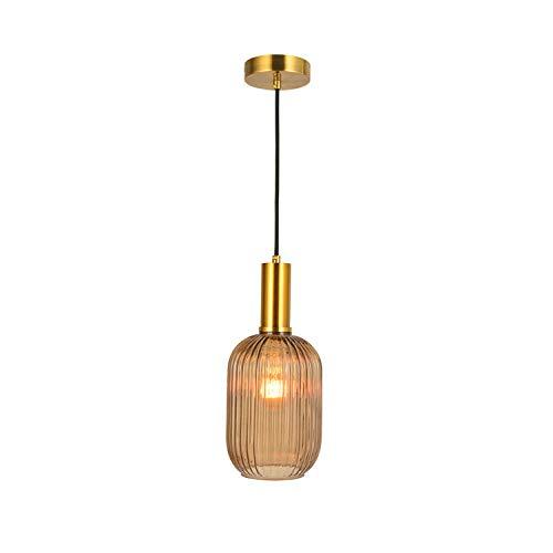 Hanglamp LED woonkamer lamp E27 binnen kleine hanglamp eenvoudig hoofd restaurant lamp eenvoudige moderne lampen van glas