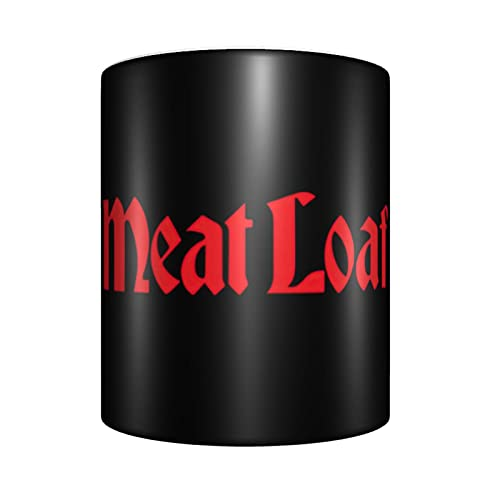 Meat Loaf Band Logo Mugs Cool Ceramic Coffee Mug Big Tea Cup For Office And Home Gift Present Funny Cup Rock Band Water Cup Fan'S Favorite Mug