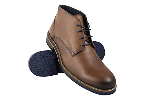 Zerimar Laarzen man | Enkellaarzen man | Leren hoge laarzen man | Leren hoge laarzen man | Hoge heren enkellaarsjes Heren kleden schoenen