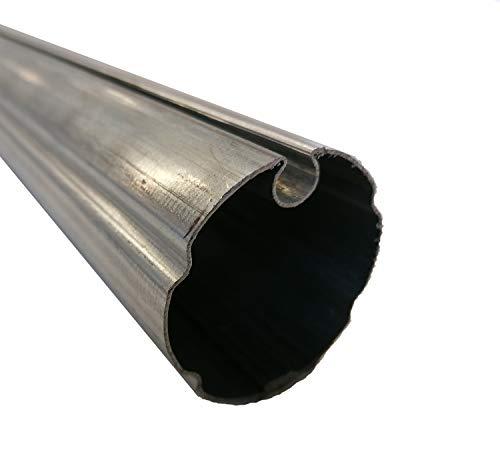 TENDAGGIMANIA Rodillo enrollable universal de hierro galvanizado para toldo de caída y brazos extensibles, diámetro 60-70 mm. Varios tamaños (4, diámetro 70 mm)