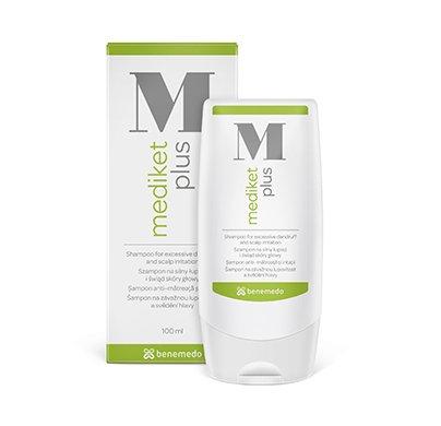 mediket Plus 200ml Shampoo–Eine einzigartige Dermatologische Shampoo für die Verwaltung der Skalierung und Probleme für die übermäßige Talgproduktion