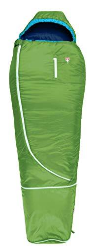 Grüezi-Bag Biopod Wool World Traveller Schlafsack Kinder Holly Green 2020 Quechua Schlafsack