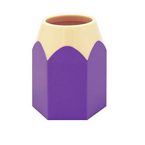 haodou lápiz soporte pluma Pot organizador de almacenamiento de papelería para niños niñas niños niños estudiantes