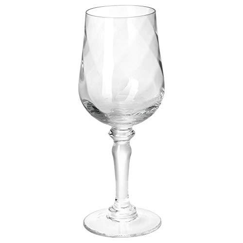 IKEA KONUNGSLIG Weinglas aus Klarglas; (33cl)