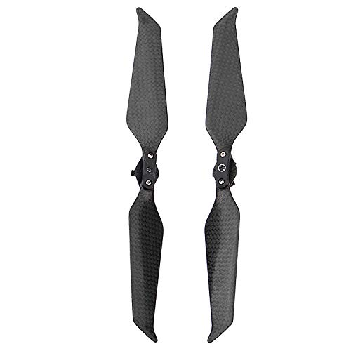 KEESIN 8743 Carbon Fiber Propeller Quick Release Noise Support Blades Compatible with Mavic 2 Pro and Zoom Drone Quadcopter dji