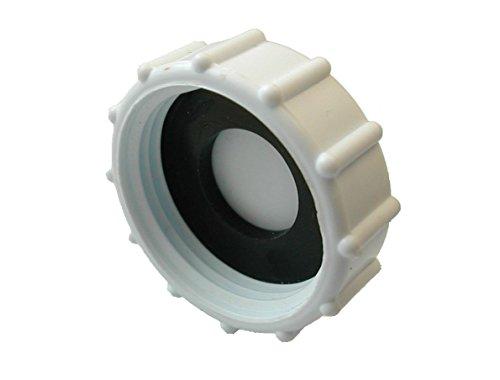 Blindstopfen und Unterlegscheibe, Verschlusskappe und Gummischeibe für Waschmaschine, Geschirrspüler, Wasserhähne, Spüle, Werkzeug, Sanitär, Endanschlag, 32 mm
