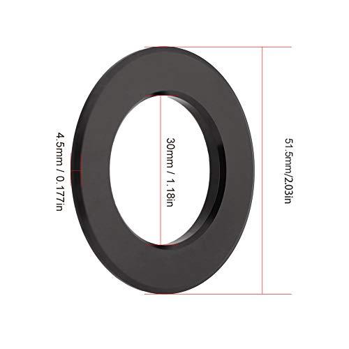 Fahrrad-Headset-Abstandshalter, Außenstamm-Headset-Spacer Bike-Röhrchen Aluminiumlegierung aus Aluminiumlegierungsmaterial
