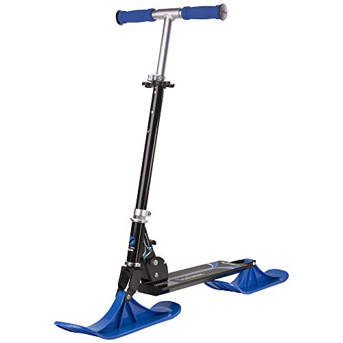 Stiga Kinder Black/Blue Kick Scooters for Snow, One Size