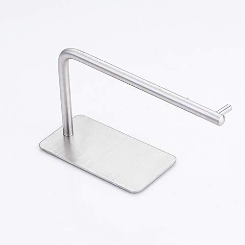 TTinah portarrollos para Papel higiénico portarrollos Papel higienico sin Tornillos Soporte de Rollo de baño montado en la Pared Autoadhesivo