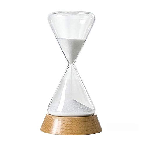 INSTO Temporizador de Reloj de Arena, Reloj de Arena de 30 Minutos / 15 Minutos de Reloj de Arena, Decoración Del Temporizador de Arena de Escritorio de Oficina en Casa,15 Minutos