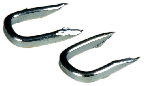 The Hillman Group 122662 Galvanized Double Point Staples Number 11, 1/2-Inch