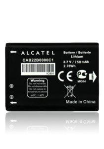 Alcatel Akku 750mAh Li-Ion ONETOUCH BY-33 (bulk)