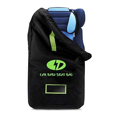 Borsa da viaggio per seggiolino auto, borsa da viaggio per passeggino per bambino Borsa da viaggio con tracolla per zaino