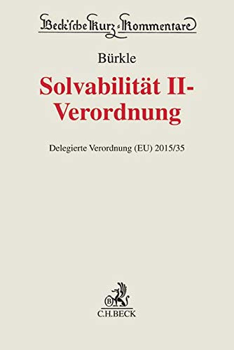 Solvabilität II-Verordnung: Delegierte Verordnung (EU) 2015/35