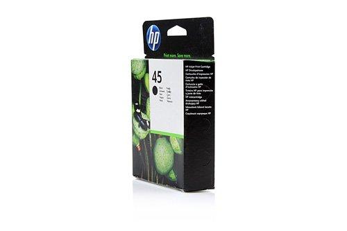 Original Tinte passend für HP DeskJet 890 CXI HP 45SMALL , 51645GE / 45 small , NO45SMALL 51645GE , 51645GEABF - Premium Drucker-Patrone - Schwarz - 415 Seiten - 21 ml