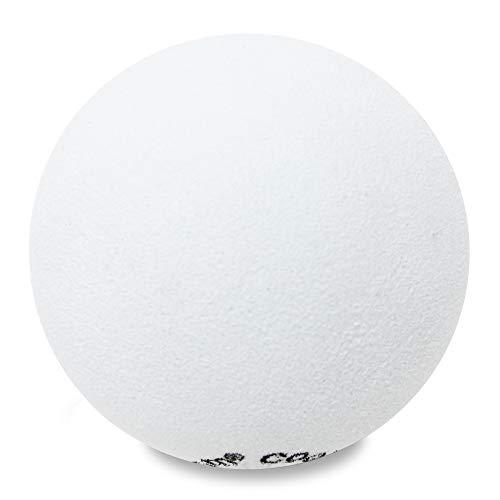 HappyBalls Plain White Ball Antenna Topper