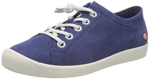 Softinos Damen ISLAII557SOF Sneaker, Violett (Purple 009), 43 EU