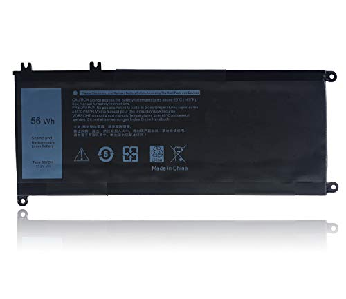 33YDH PVHT1 56Wh Laptop Battery for Dell Inspiron 17 7000 7778 7779 7786 7773 15 7577 G3 3579 3779 G5 5587 G7 7588 Latitude 13 3380 14 3490 15 3590 3580 P99NF2 VHT1 P30E 81PF3 Replacement Battery