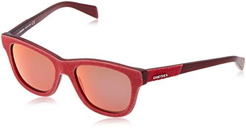 Diesel Sonnenbrille Dl0111 92x-52-18-140 Occhiali da Sole, Blu (Blau), 52.0 Unisex-Adulto