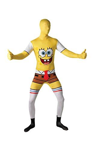 Rubies 's Oficial de Bob Esponja Cuadrado Pantalones 2nd Skin Disfraz