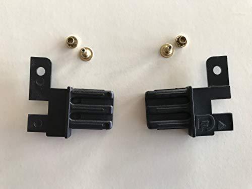 scivoli per zanzariera a molla o catena - accessori per zanzariera a rullo. (1 coppia a catena)