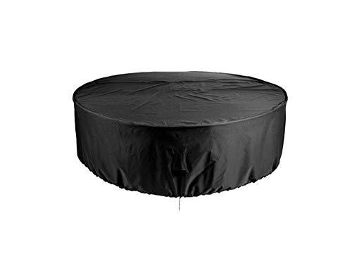 SlimpleStudio Conjuntos de Mueble,Cubierta de Mesa de Muebles de jardín al Aire Libre Cubierta de Muebles de jardín Impermeable y Protector Solar protección UV-El 185x110cm