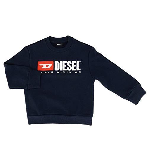 Diesel 00j48E 0IAJH SCREWDIVISION Sweater Unisex Junior Midnight 8Y