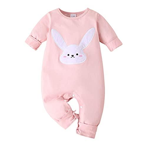 YWLINK Mono Bebé De Una Pieza Mameluco Pelele Footies para NiñOs Body Pijama Unisex De AlgodóN Romper Manga Larga De Bebé ReciéN Nacido con Estampado De Animales