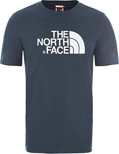 The North Face M S/S Easy Tee Blue Wing Teal APP_Top Homme, FR (Taille Fabricant : XL)