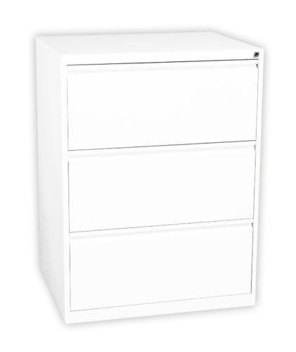 Profi Stahl Büro Hängeregistratur Schrank Bürocontainer 1010 x 760 x 620mm (HxBxT) mit 3 Schüben, doppelbahnig 561327 kompl. montiert und verschweißt
