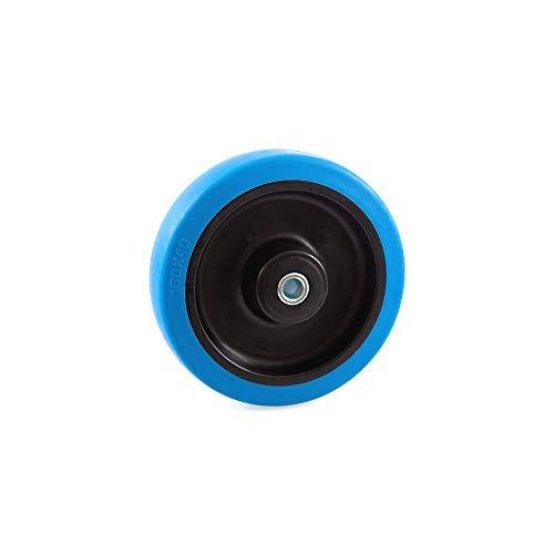 Blue Wheel Bockrolle Lenkrolle Lenkrolle mit Bremse 80 100 125 160 200 mm Rad 160 mm