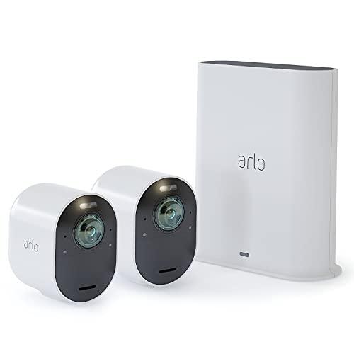 Arlo Ultra 2 Spotlight Camera - 2 Camera Security System - Wireless,...