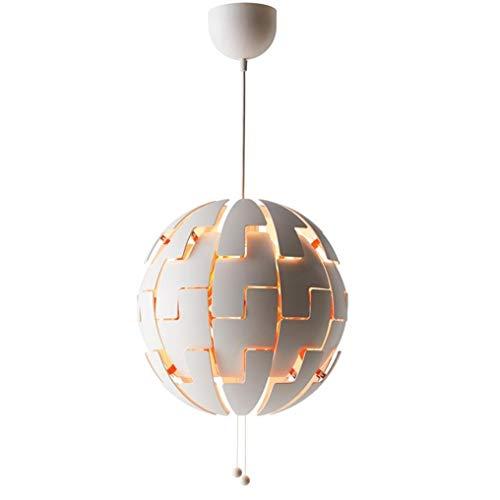 YuJiZ/Modern Art Deco Lampada a sospensione Romance Creative Drawstring Explosion Ball Lampada a sospensione realizzata da alta qualità con pendente in acrilico Decorazione Altezza regolabile E27 MA