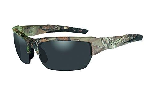 Wiley X Erwachsene Schutzbrille Valor, Realtree Xtra camo