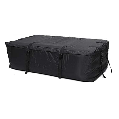 Borsa Da Tetto 145x80x45cm Auto impermeabile Top Top Carro Cargo bagaglio Borsa da viaggio Borsa da viaggio per veicoli con rotaie per tetti